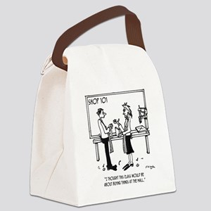 Shop Class is Not About Buying Th Canvas Lunch Bag